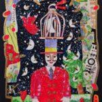 Il venditore di lune serigrafia a colori