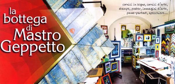 Bottega d'arte e cornici a Savona
